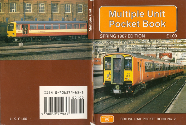 Multiple Unit Pocket Book