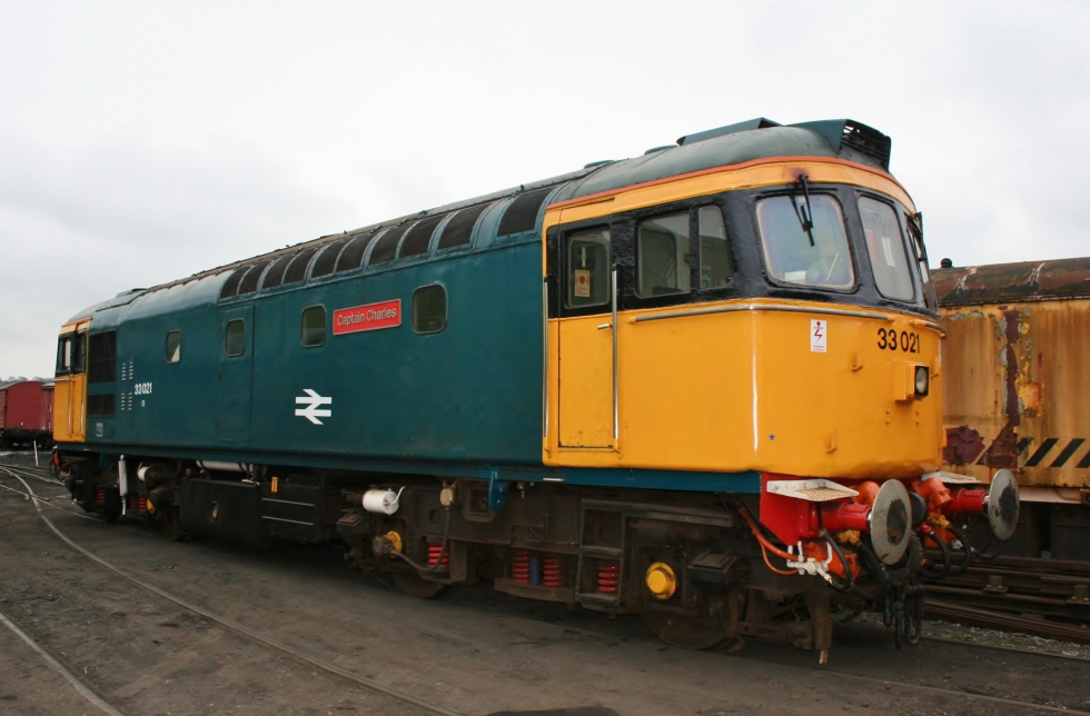 Class 33 on the Churnet Valley Railway