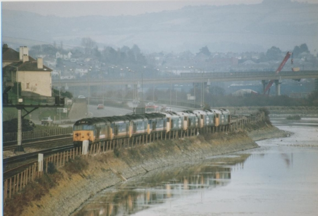 Class 50's from my archive.