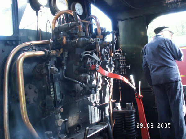 GWR 4612 Cab View