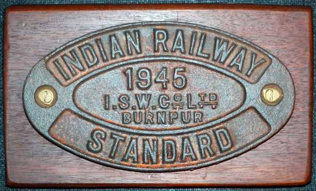 Builders Wagon Plate