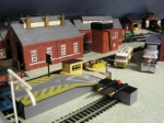 Model Railway Loading Ramp and Loco Shed