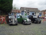 Typical 40's cars